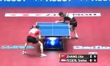 張継科VSフェゲルル 世界卓球2014