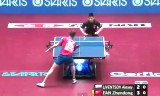 樊振東VSリウェンツオフ 世界卓球2014