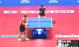 日本VS台湾(女子) 世界卓球2014