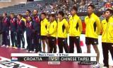 台湾VSクロアチア(決勝T)世界卓球2014