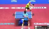 日本VSハンガリー(男子)世界卓球2014