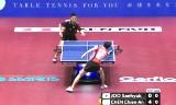 台湾VS韓国(準々決勝)世界卓球2014