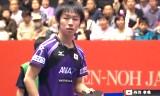 日本VSポルトガル(準々)世界卓球2014