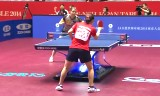香港VSドイツ(準々決勝)世界卓球2014