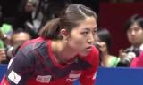 中国VSシンガポール(準決勝)世界卓球2014
