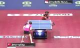 朱雨玲VSシユン(準決勝)世界卓球2014