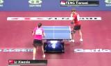 李暁霞VS馮天薇(準決勝)世界卓球2014
