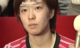 悪い夢を振り切って勝利した石川佳純