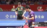 日本VSドイツ(男子準決勝)世界卓球2014