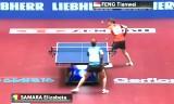 馮天薇VSサマラ(準々)世界卓球2014