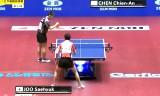 陳建安VS朱世赫 世界卓球2014