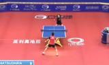 伊藤美誠VS松平志穂(準々)中国オープン2014