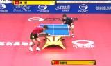 張継科VS唐鵬(準々決勝)中国オープン2014