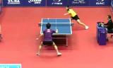 町飛鳥VSチェン(U21決勝)中国オープン2014