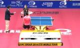 劉詩文VS李暁霞(準決勝)中国オープン2014