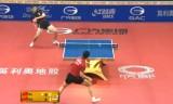 馬龍VS許昕(ロビング)中国オープン2014