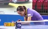 馮天薇VSユモンユ(準決勝) 韓国オープン2014