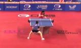佐藤瞳VSチャン(女U21決勝)韓国オープン2014
