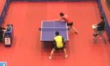 町飛鳥VS李佳陞(予選) 日本オープン2014