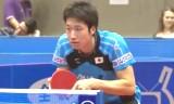 水谷隼VS詹健(準々決勝)日本オープン2014