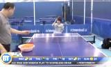 11歳の卓球選手ローラの練習風景