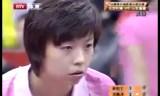 張怡寧VS彭陸洋 中国スーパーリーグ2009