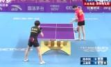 陳幸同VS王曼昱 中国超級リーグ2014