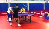 中国NT訓練・多球練習(張継科など)