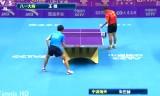 王皓VS朱世赫 中国超級リーグ2014