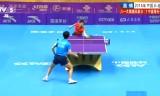 周雨VS朱世赫 中国超級リーグ2014