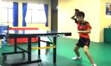 10歳と7歳の卓球・多球練習を紹介!