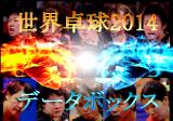 世界卓球2014速報 データボックス