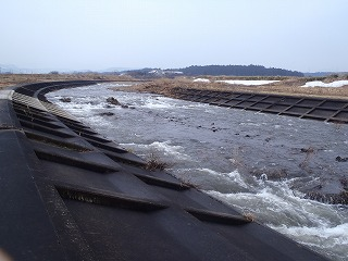 2014年3月保野川下流部