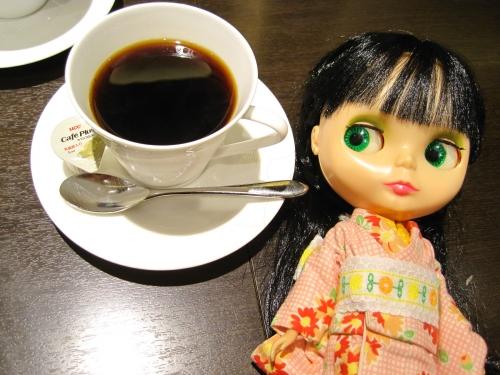 帰りのコーヒー