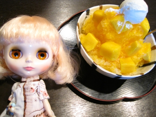 オレンジアイvsマンゴー
