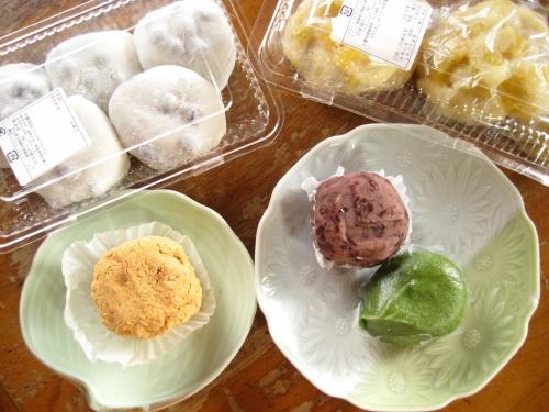 山田餅本店の和菓子