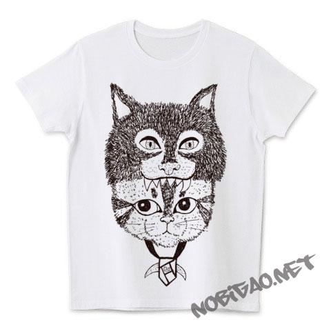 猫Tシャツ もののけ猫