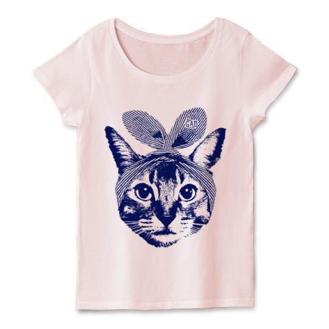 猫Tシャツ Nobigao うさみみ猫