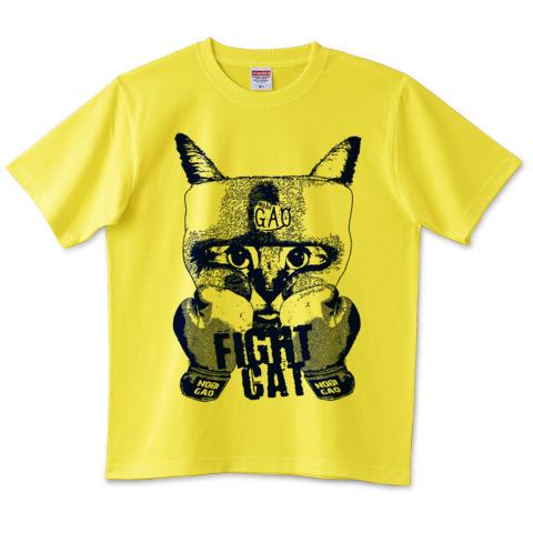 猫Tシャツ Nobigao キャットファイト