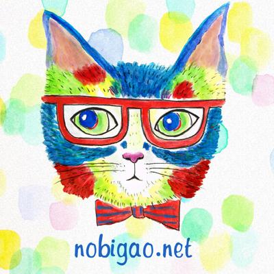 猫Tシャツ めが猫 水彩バージョン