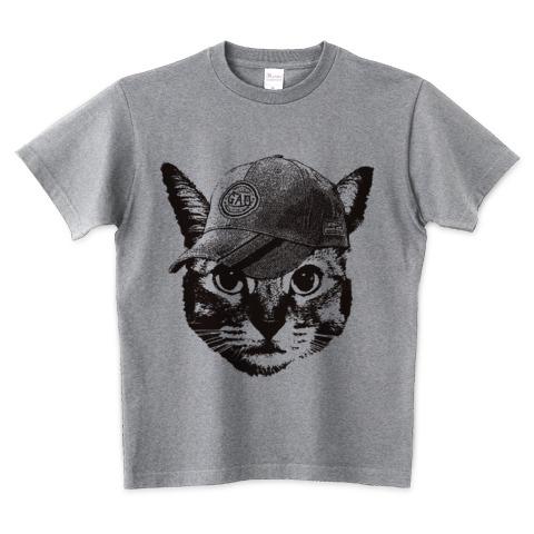 猫Tシャツ Nobigao ベースボールキャット