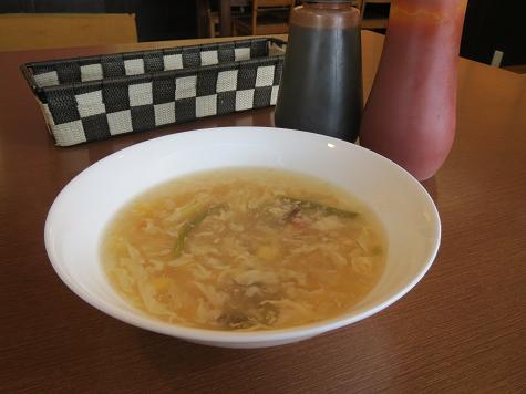 オークレストラン オークランチ スープ