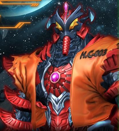 大怪獣ラッシュ ヒッポリト星人ケイプ