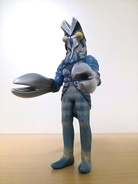 プレイヒーロー ウルトラマン対決セット ソフビ道 バルタン星人