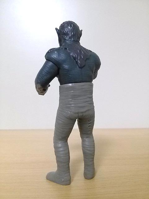 プレイヒーロー ウルトラマン対決セット ソフビ道 ミイラ人間0