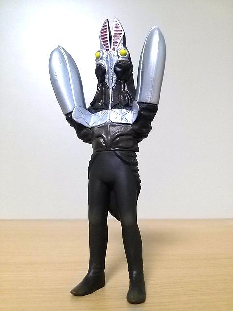 プレイヒーロー ウルトラマン対決セット ソフビ道 バルタン星人二代目