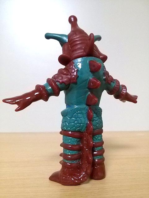 プレイヒーロー ウルトラマン対決セット ソフビ道 ヒッポリト星人0