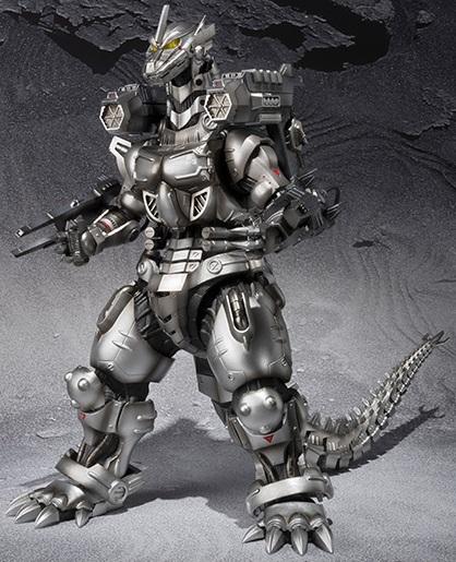 モンスターアーツ 3式機龍(重武装型/高機動型)