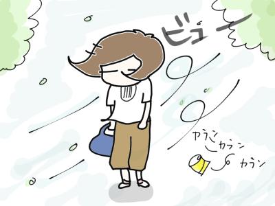 台風接近ちゅう1