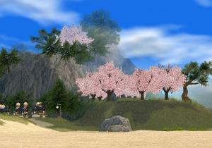 恋咲島全景